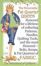 Fat quarter queen
